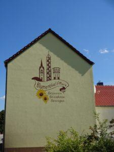 Hausgiebel Kreuzung Blumenthal