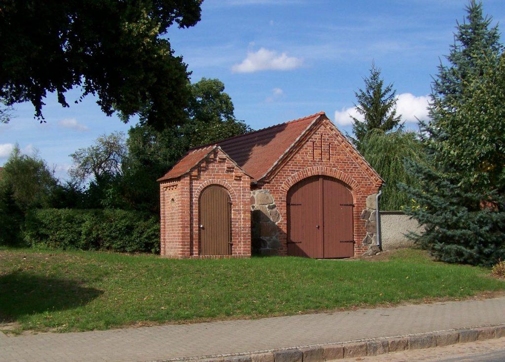 Nachtwächterhaus und alte Feuerwehr Papenbruch