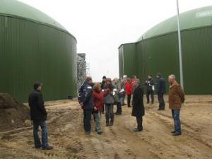 Baubeginn neue Biogasanlage Gewerbegebiet Heiligengrabe im März  2010