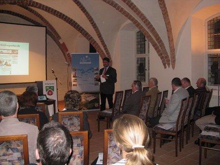 Vortrag Herr Kelch von der Arbeitsagentur