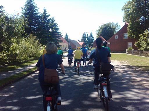 Impression von unterwegs auf der 4. Etappe der Tour-de-Prignitz 2010 nach Heiligengrabe