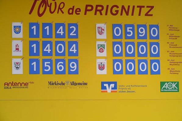 Zwischenstand nach Etappe 3 der Tour-de-Prignitz 2010- original