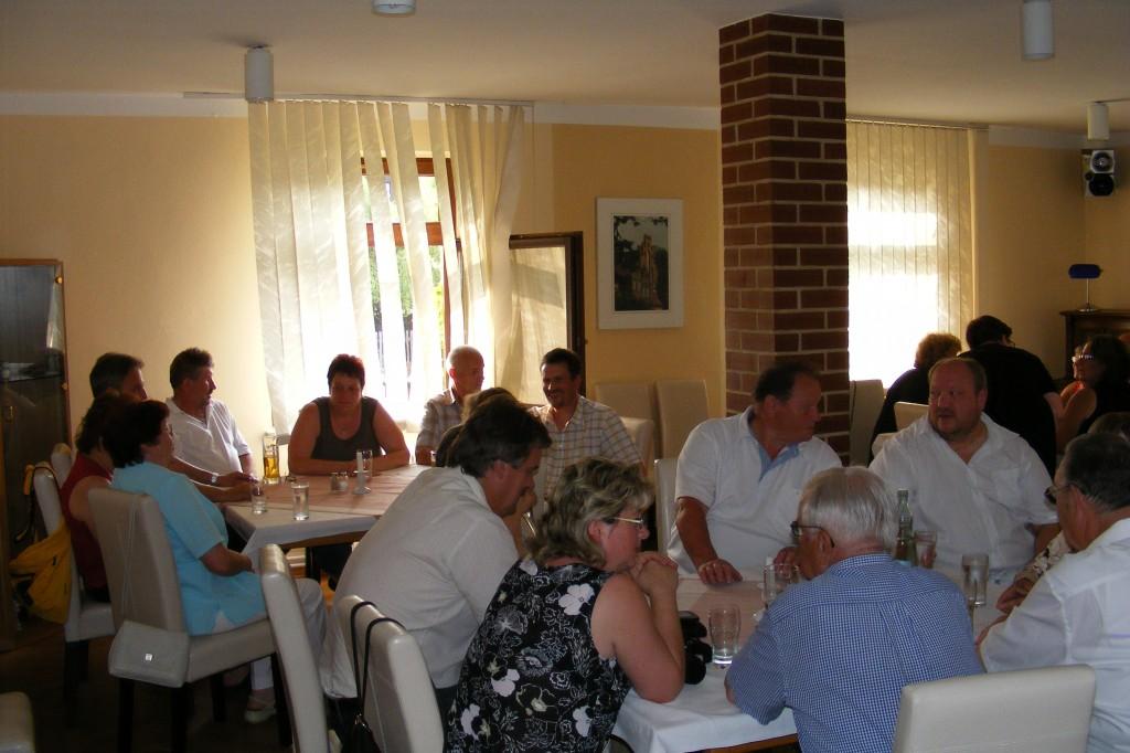 Gemeindeabend Fahrenbach-Heiligengrabe am 04. Juli 2010 im Hotel Klosterhof