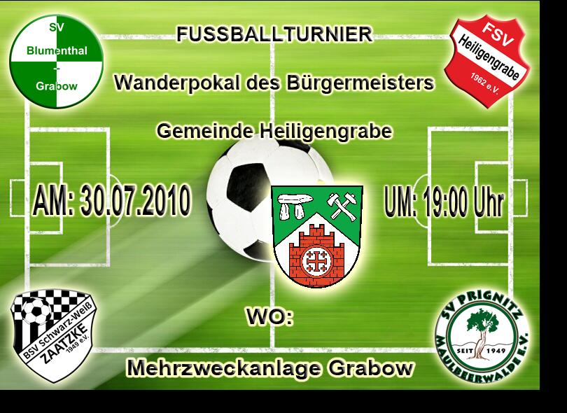 Fussball-Wanderpokal Bürgermeister Gemeinde Heiligengrabe 2010