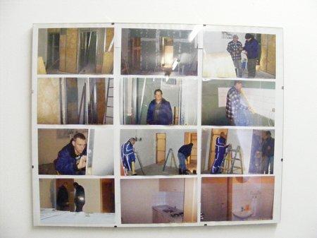Bilder vom Bau des Küchen- und Sanitärtraktes am Blandikower Feuerwehrgerätehaus
