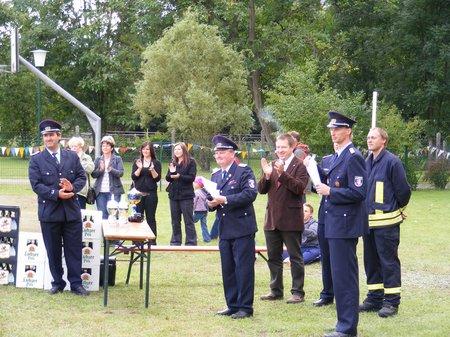 Heiligengrabe - 100 Jahre Feuerwehr Blumenthal - Siegerehrung und Preisverleihung