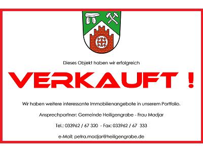 Immobilie verkauft - Gemeinde Heiligengrabe - Stempel