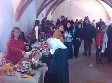vorweihnachtlicher Klostermarkt 2010 - Kreuzgang Heiligengrabe