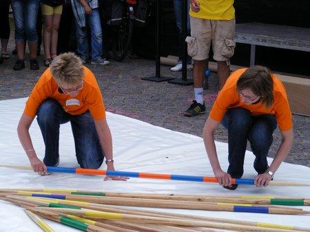 Mikadospiel-Sandra-Staedtke-und-Susann-Geyer-Heiligengrabe-Tour-de-Prignitz-2011