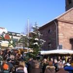 Weihnachtsmarkt in der Partnergemeinde Fahrenbach