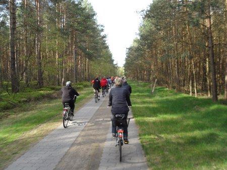 Anradeln 2012 - Fahrt über Hoheheide