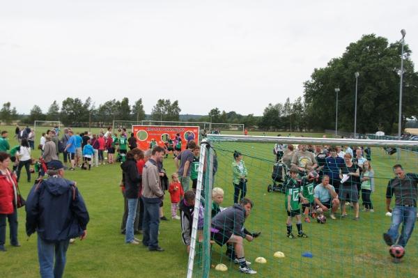 Champion-Day Eltern gegen Kinder - FussballCamp SV Blumenthal/Grabow 2012