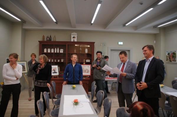 Eröffnung Vernissage und Ausstellung Detlef Glöde im Wwegemuseum Wusterhausen-Dosse