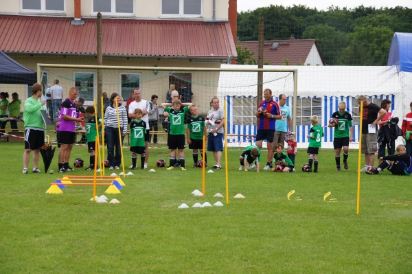 Station am Champions-Day im Fussball-Camp Blumenthal/Grabow am 24. Juni 2012