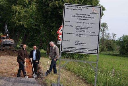 Ausbau Kreisstraße K 6824 Heiligengrabe Maulbeerwalde 02