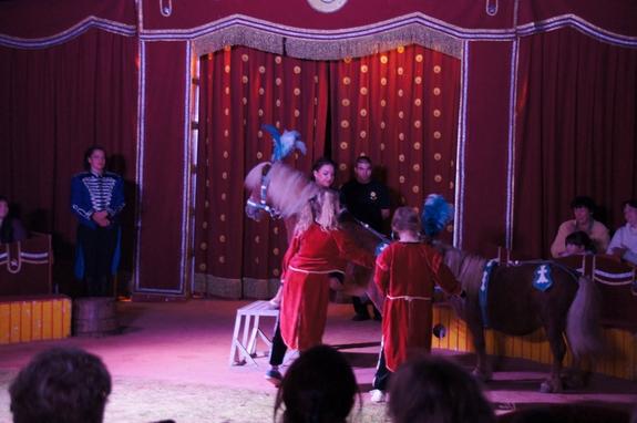 Pony-Dressur-Circus-Smiley-Heiligengrabe