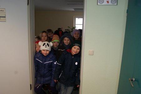 Nadelbachgrundschule Heiligengrabe - 3. Klasse besucht Gemeindeverwaltung 06
