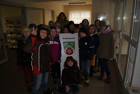 Nadelbachgrundschule Heiligengrabe - 3. Klasse besucht Gemeindeverwaltung 07