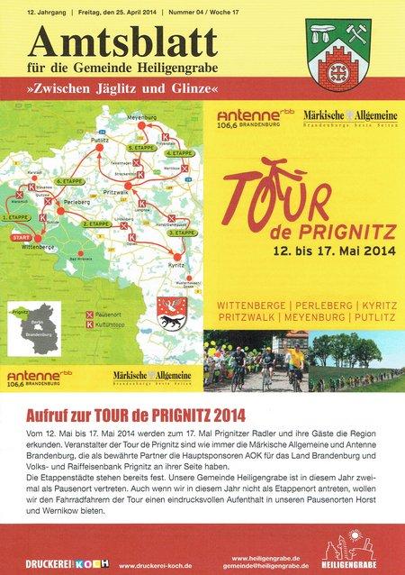 Amtsblatt Heiligengrabe 04/2014 - Deckblatt