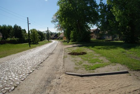 15 Dorfstrasse Dahlhausen - Baumaßnahme Seitenbereiche Mai 2014