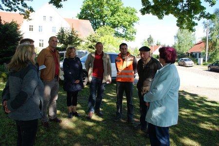 5 Dorfstrasse Dahlhausen - Baumaßnahme Seitenbereiche Mai 2014