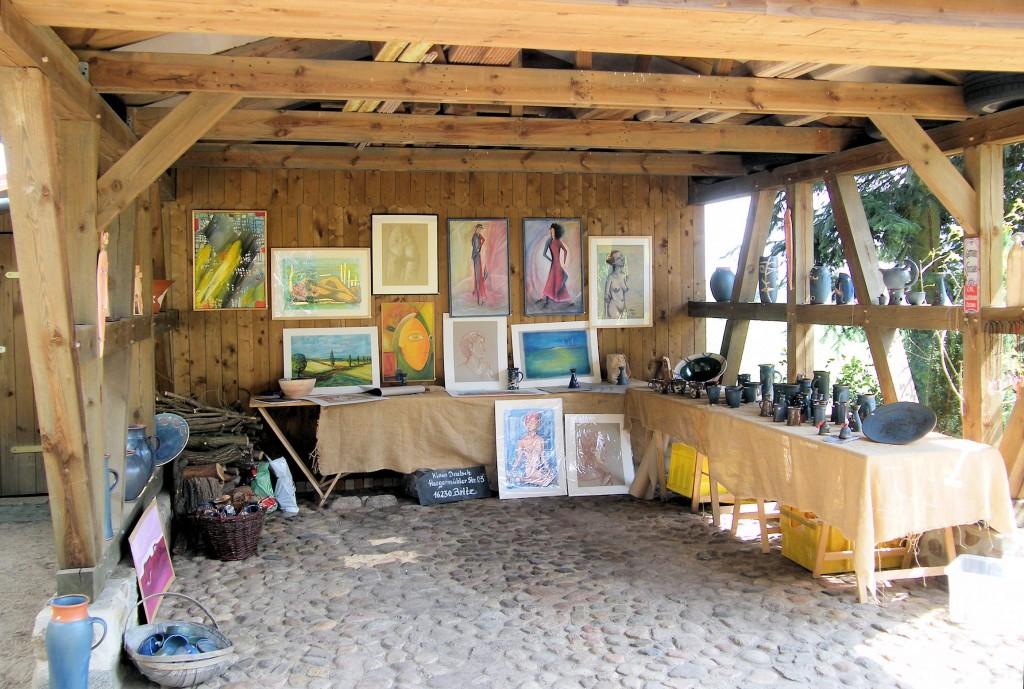 Atelier-Detlef-Gloede-Blumenthal-Ausstellung