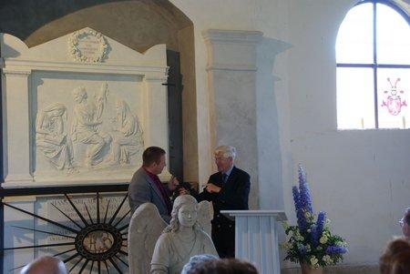 Gutskapelle Horst - Übergabe restauriertes Grabmal Blumenthal 10