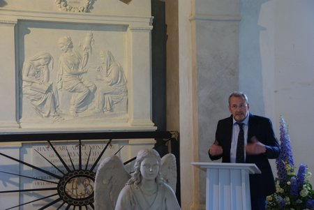 Gutskapelle Horst - Übergabe restauriertes Grabmal Blumenthal 11