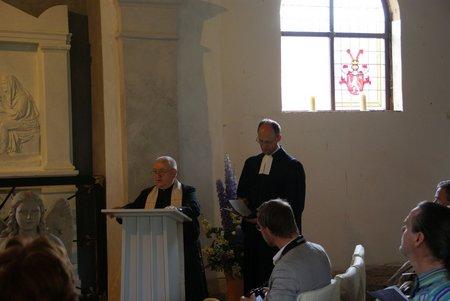 Gutskapelle Horst - Übergabe restauriertes Grabmal Blumenthal 2