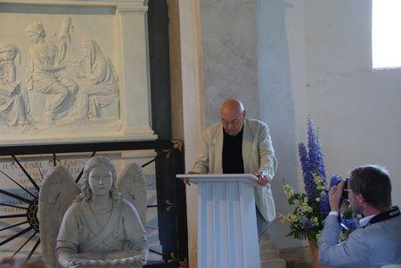 Gutskapelle Horst - Übergabe restauriertes Grabmal Blumenthal 4