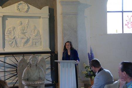 Gutskapelle Horst - Übergabe restauriertes Grabmal Blumenthal 5