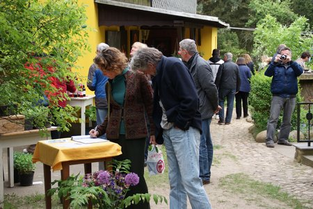 Tag des offenen Ateliers 2014 - Atelier Glöde Blumenthal - 1