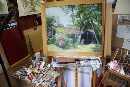Tag des offenen Ateliers 2014 - Atelier Glöde Blumenthal - 7