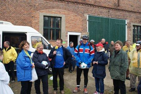 TOUR de PRIGNITZ 2014 - Mittagspause Horst - 14.05