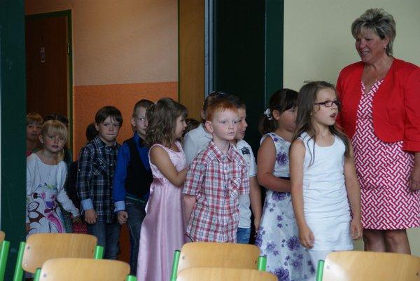 Einschulung Nadelbachgrundschule Heiligengrabe 2014 - 1