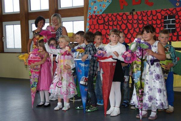 Einschulung Nadelbachgrundschule Heiligengrabe 2014 - 10