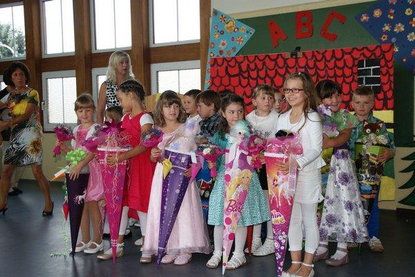 Einschulung Nadelbachgrundschule Heiligengrabe 2014 - 11
