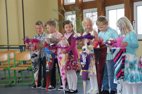 Einschulung Nadelbachgrundschule Heiligengrabe 2014 - 12