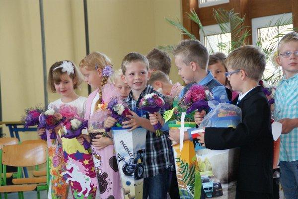 Einschulung Nadelbachgrundschule Heiligengrabe 2014 - 13
