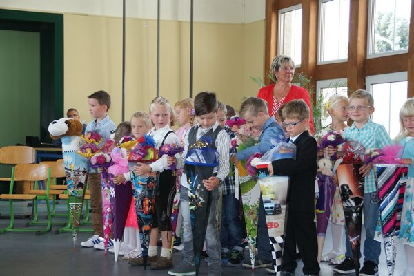 Einschulung Nadelbachgrundschule Heiligengrabe 2014 - 14