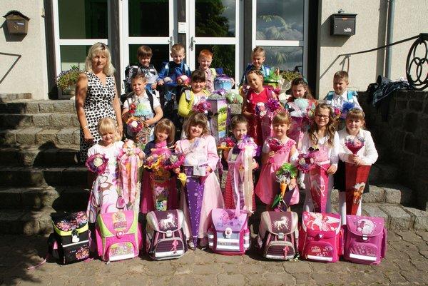 Einschulung Nadelbachgrundschule Heiligengrabe 2014 - 15