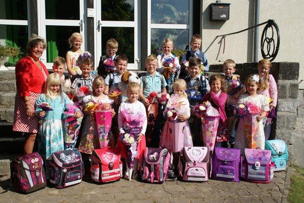 Einschulung Nadelbachgrundschule Heiligengrabe 2014 - 16