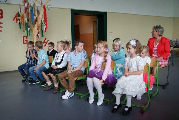 Einschulung Nadelbachgrundschule Heiligengrabe 2014 - 3