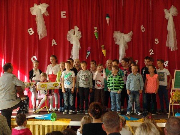 Kleine Grundschule Blumenthal - Einschulung 2014-15 - 2