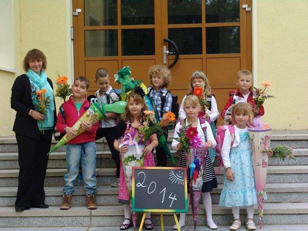 Kleine Grundschule Blumenthal - Einschulung 2014-15 - 5
