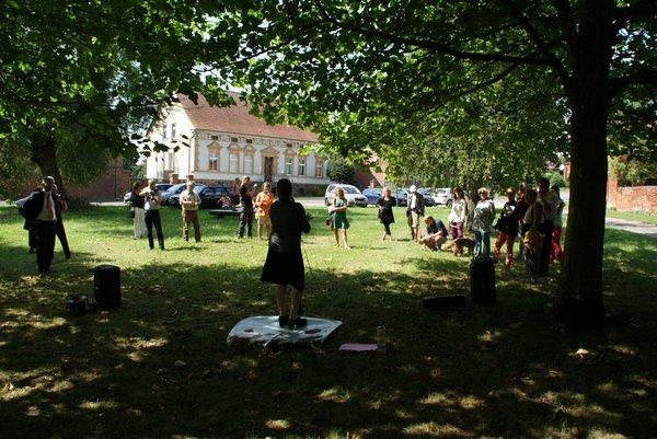 Kunstbank Heiligengrabe-Papenbruch - Einweihung 31.07