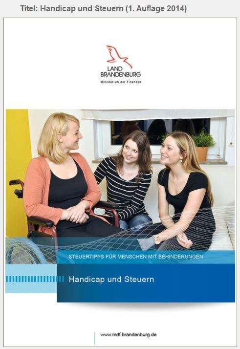 Titel Handicap und Steuern (1
