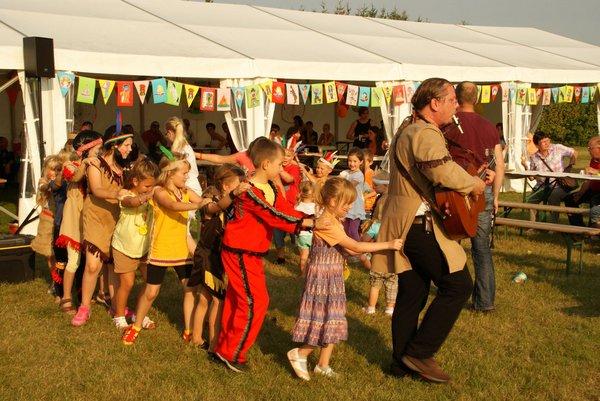 Erstes Indianerfest Gemeinde Heiligengrabe 2014 - 3