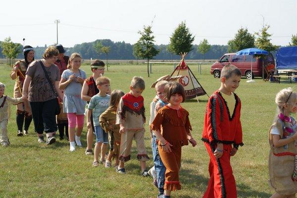 Erstes Indianerfest Gemeinde Heiligengrabe 2014 - 7