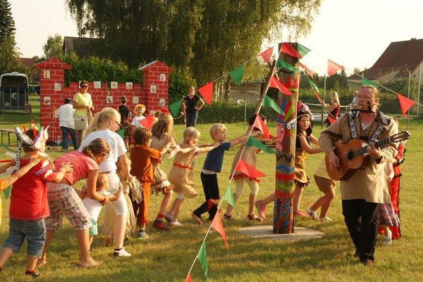 Erstes Indianerfest Gemeinde Heiligengrabe 2014 - 9